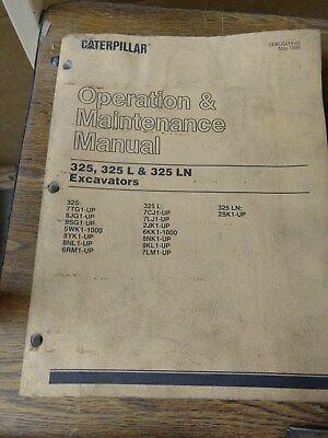 Caterpillar 325 325 L 325 Ln Excavators Operation Maint. Manual