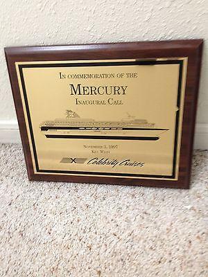 Celebrity Cruise Lines Mercury   November 3 1997  Inaugural Call        Reduced