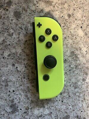 Nintendo Joy-Con (R) Wireless Controller for Nintendo Switch - Neon Yellow