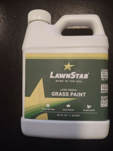 Grass Paint Concentrate (500-1,000 sq ft) - for Dormant, Patchy or Faded Lawn