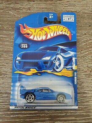 HOT WHEELS 2001 FERRARI F40 #209 - PR5 Wheels  - MINT