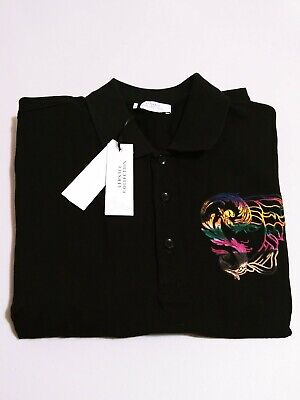 Versace Collection Mens Short Sleeve Polo Medusa Size 2XL NWT $295