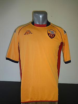 2002-2003 AS ROMA football shirt jersey Kappa size adults XL image