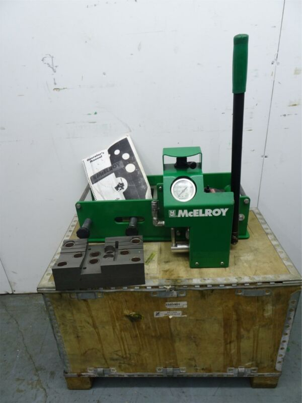 MCELROY AS03501 In Field Tensile Tester   Excellent Condition
