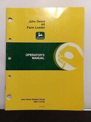 Operators Manual John Deere 46 Farm Loader Om-c14318c