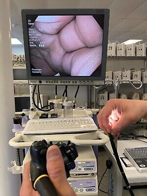 Olympus Exera Ii Gif-h180 Video Gastroscope Oem Insertion Tube 7840