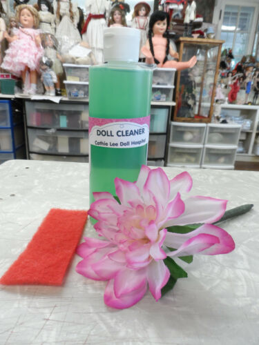 NEW TRAIL SIZE @ CATHIE LEE DOLL CLEANER 4 oz