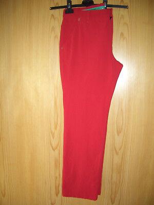 Golf Hose Alberto für Herren  /rot/ Größe 26 / elastisch/ wie neu, fester Stoff