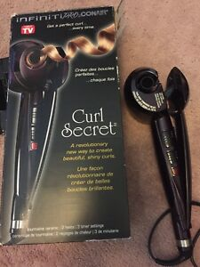 Conair curl secret automatic curling iron infinity pro