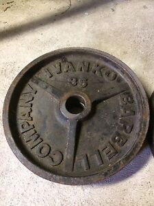 Olympic barbell weights