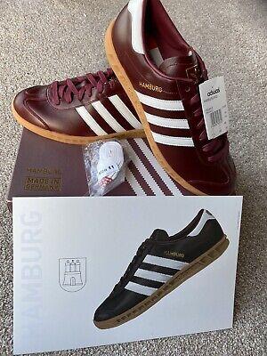 Adidas hamburg,Made In Germany, BNIBWT,UK11,rare,Dublin,London,Trimm