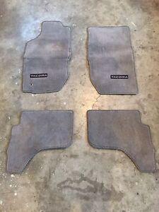 Toyota Tacoma floor matts