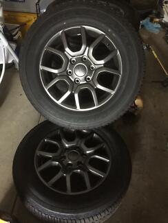 Wheels+rims FORD RANGER fx4 brand new never used set of 5 Henley Beach Charles Sturt Area Preview