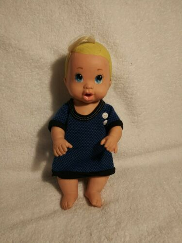 Coochy Coo Squeaking Rubber Baby Doll By Ertl Vintage Blonde Hair - $5.50