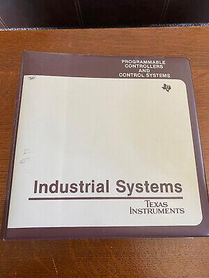 Texas Instrument Plc 520530525 Training Manual