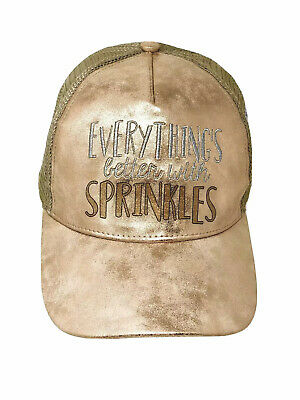 Disney 2019 Epcot Food & Wine Festival Everythings Better With Sprinkles Hat (Best Food With Wine)