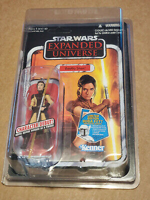 Star Wars Vintage Collection Bastila Shan Unpunched W/Protective Case  NEW