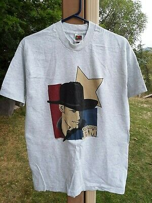 Vintage 1997 COUNTRY JAM USA White Short Sleeve T Shirt Coll Band Lineup Size L