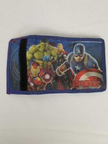 Marvel Avengers Age of Ultron Trifold Wallet Hulk Captain America Iron Man Thor