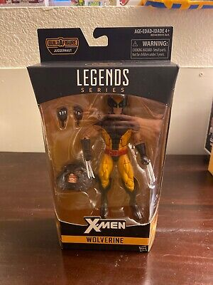 MARVEL LEGENDS X-MEN WOLVERINE JUGGERNAUT BAF WAVE NEW