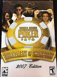 World Series of poker tournament of champions PC game