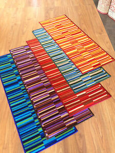 tappeto cucina moderno rosso viola arancio verde blue antiscivolo ... - Tappeto Cucina Moderno