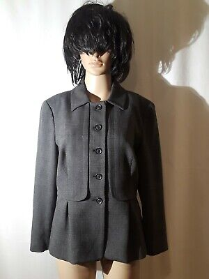 Armani Jeans Women's Grey Blazer Size IT 46 US 10