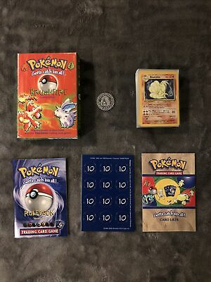 Pokemon Brushfire Theme Deck 1999 Base Set Opened Almost Complete