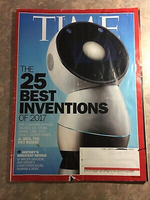 Time Magazine The 25 Best Inventions of 2017 November 27 December 4