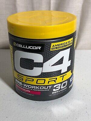 Cellucor C4 Sport Pre Workout Powder Energy Drink; Watermelon Flavor