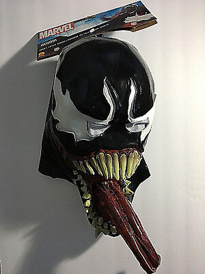 Deluxe Venom Costume Mask Adult Amazing Spider-man Villain Spiderman (Deluxe Venom Costume)