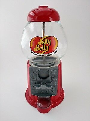Jelly Belly Mini Bean Machine Dispenser Bank Tested Glass NOW 25% OFF!!!