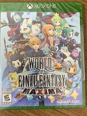 NEW XBox One World Of Final Fantasy Maxima SEALED Complete Canada Microsoft