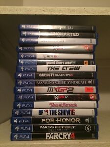 Ps4 Games (Updated)