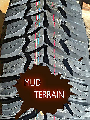 4 NEW Truck Tires 35 12.50 17 LRE Crosswind MT Mud Terrain 35X12.50R17 LT 315 70