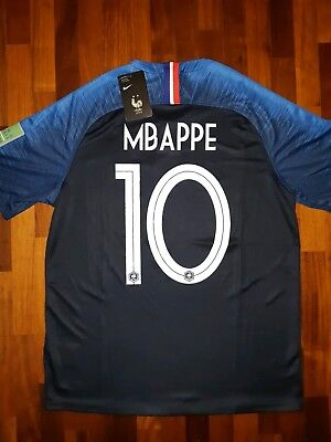 MBAPPÈ MAGLIA 2019 FRANCE AUTHENTIC 2 STARS