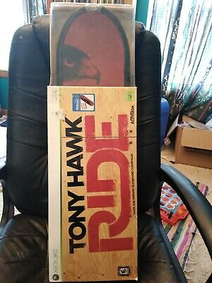 Tony Hawk Ride Xbox 360 Game and Wireless Skateboard Controller limited edition
