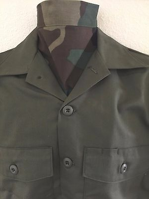 UNISSUED CAMOUFLAGE BRANCH OF SERVICE BIB-TYPE ASCOT SCARF - Type Of Service