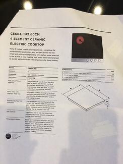Electric ceramic cook top