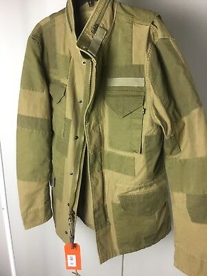Used, NEW Limited Alpha Industries M-65 CONSTRUCT Field Jacket Men's Large for sale  Riverton