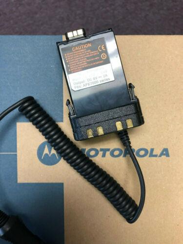 MOTOROLA APX 6000 7000 8000 RADIO BATTERY ELIMINATOR NNTN7038 PMNN4403 APX7000