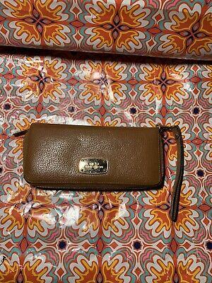 Michael Kors Brown Wallet Bag Pouch Clutch