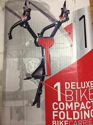 Allen Sports One Bike Compact Folding Bicycle Bike Carrier Rack Model (Allen Bike Racks Folding Bicycle)