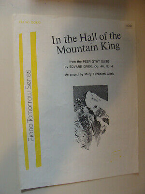 In the Hall of the Mountain King Op 46 #4 Edvard Grieg from Peer Gynt Suite