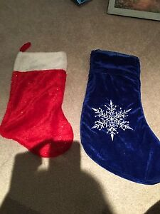 Xmas stockings 2x