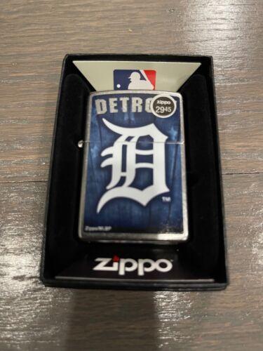 MLB Detroit Tigers Logo Zippo Lighter - Collectible