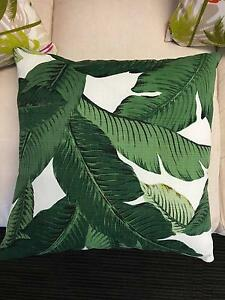 Green Tropical Cushions Woollahra Eastern Suburbs Preview