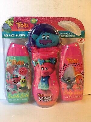 Trolls Fresh Bath And Body Gift - Bath & Body Gift Sets
