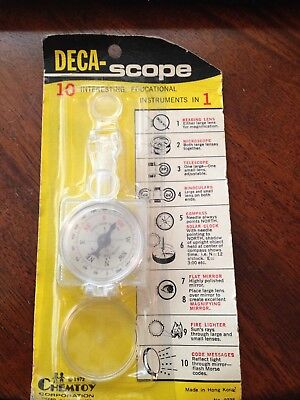 VINTAGE 1972 ChemToy Educational Deca Scope Dime Store Sealed in Package - Educator Store