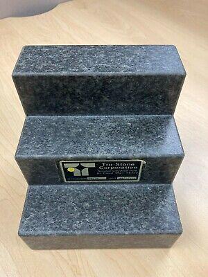 Starrett Tru Stone Corporation Angle Plates 6 X 6 X 6 2-face Granite Grade Aa